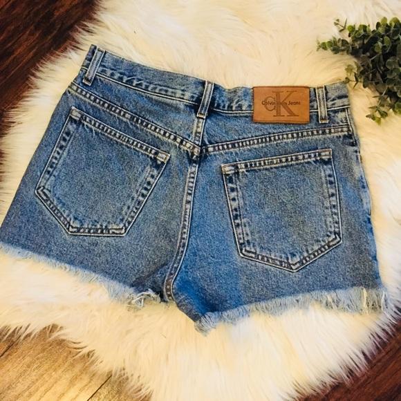 Shorts Klein Calvin Jeans Vintage Hoogbouwsteen lK1FJc